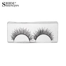 Makeup New Type 7 Pairs Soft  Natural Long Eyelashes Handmade False Lashes Makeup Eyelash Extension Fake Eyelashes V01 Style