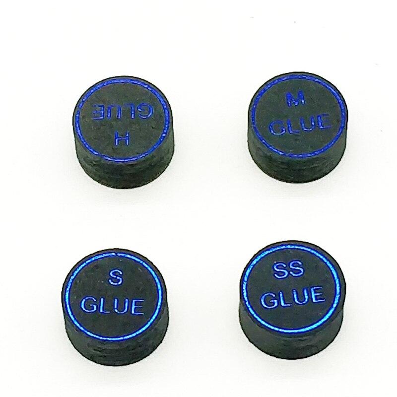 10pcs lot H M S SS Hardness Billiard Cue Tip Pigskin Leather 8 Layer Pool Accessories