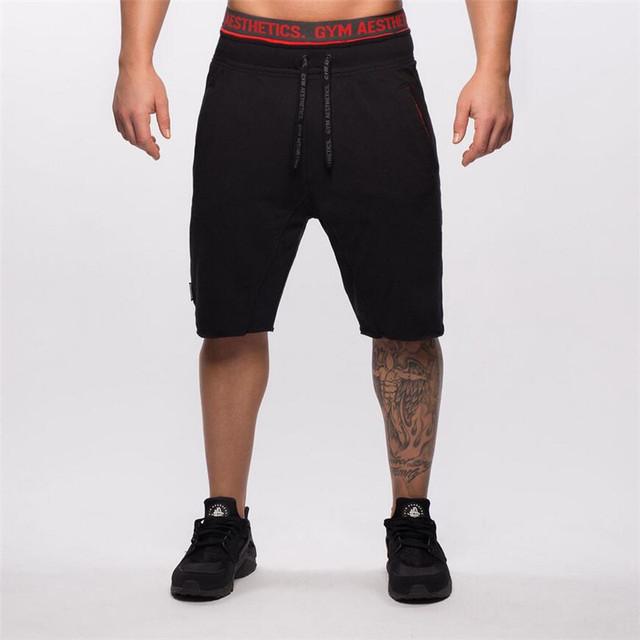 Verano Pantalones Cortos Ocasionales de la Marca Pantalones Cortos Elásticos Pantalones de Moda Masculina