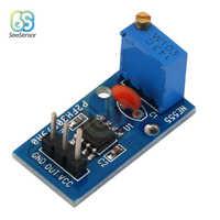 DC 5V 12V NE555 Einstellbaren Widerstand Frequenz Puls Generator Modul Einzigen Kanal Ausgang Modul Für Arduino Smart Auto