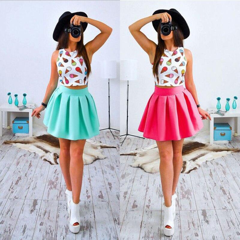 Summer Dress 2017 New Sexy Women Print Mini Party Dresses Fashion Casual Women Cute Beach Two
