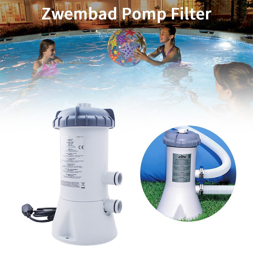 220V piscine filtre pompe piscine nettoyeur électrique filtre pompe piscine nettoyage bassin pompe Installation rapide piscine et accessoires