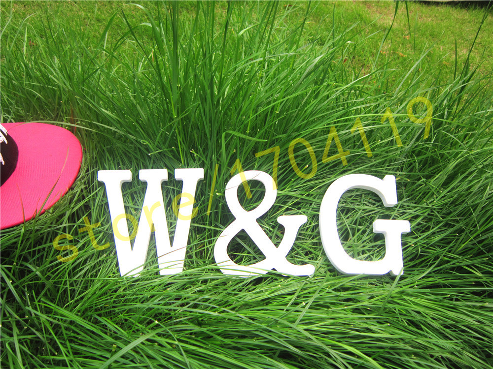 10cm Standing Artificial Wood white letters for Wedding <font><b>Decorations</b></font> <font><b>Home</b></font> <font><b>Decorations</b></font> Brithday Gift LOVE <font><b>home</b></font> heart