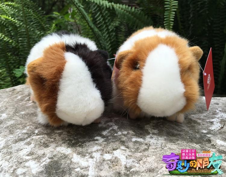 18CM Kawaii Simulation Mouse Plush Toys Guinea Pigs Plush Dolls Cavia - პლუშები სათამაშოები - ფოტო 3