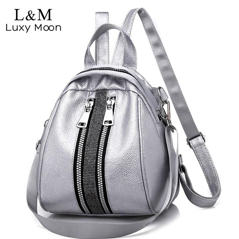 13d2288bdec1 Women Backpack High Quality PU Leather Backpacks for Teenage Girls Female  School Shoulder Bag Bagpack Shell Type mochila XA504H for sale in Pakistan