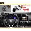 Car Rear View Camera / Back Up Reverse Camera Sets For Honda FIT 2012~2016 / RCA & Original Screen Compatible