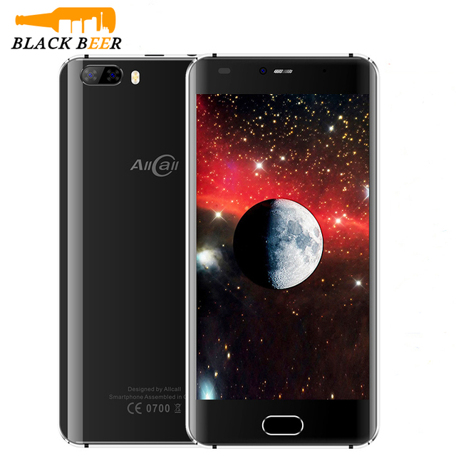 Allcall RIO Dual Back Cams Mobile Phone 5.0 Inch HD IPS MTK6580A Quad Core 1GB RAM 16GB ROM 8MP Camera Android 7.0 3G Smartphone