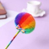 Радужная гелиевая ручка