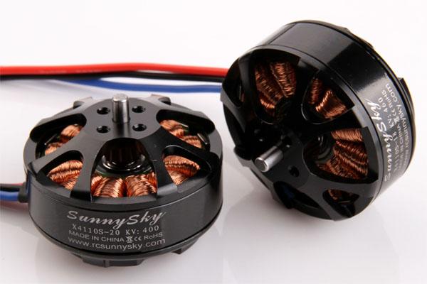 Drone accessories brushless motor SUNNY SKY x4110s 400KV 340KV Brushless Outurnner Motor for sale t motor brushless motor u10 plus kv80 drone brushless motor