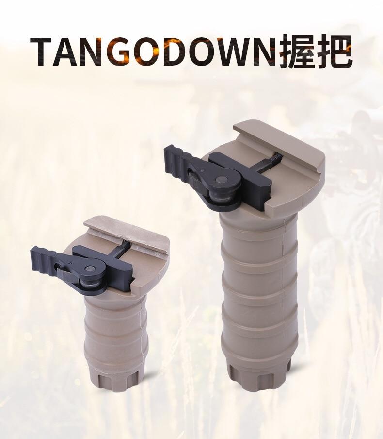 KUBLAI Tango Down Grip TD Grip  Water Gel Ball Blaster AEG Vertical Quick Release Front Grip