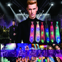 Glowing Led Sequins Flash Bow Tie Bow Luminous Tie Clip Stage Show Bar Nightclub Party Event Supplies Glow In The Dark In Toys