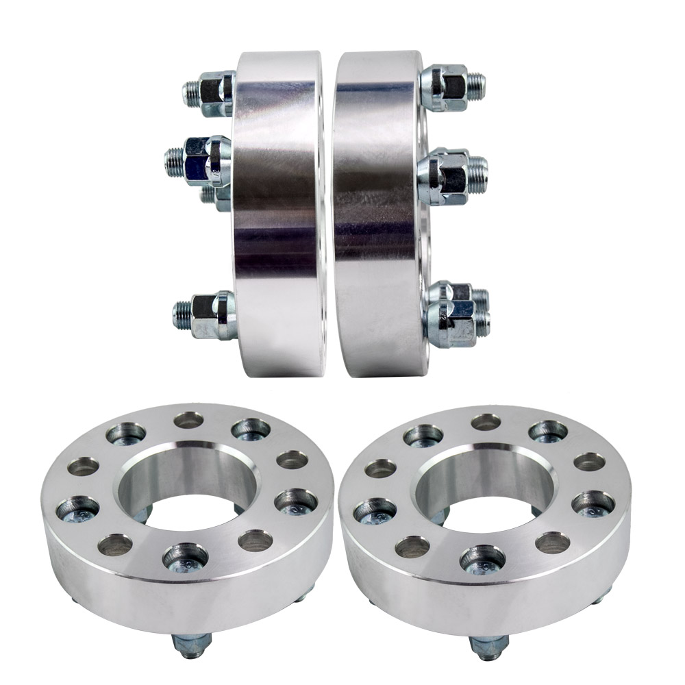 4x Wheel Spacer Spacers Adapters 35mm 5x114.3 for Ford BA BF FG AU Falcon New 4pcs new billet 5 lug 12 1 5 studs wheel spacers adapters for jeep wrangler