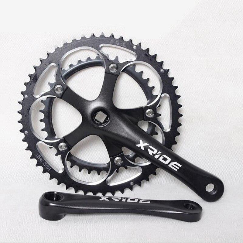 ФОТО Bicycle Crank & Chainwheel Square Hole Dental Trailer Folding Car Hood Plate Bicycle Accessories Bicycle crank Chainwheel