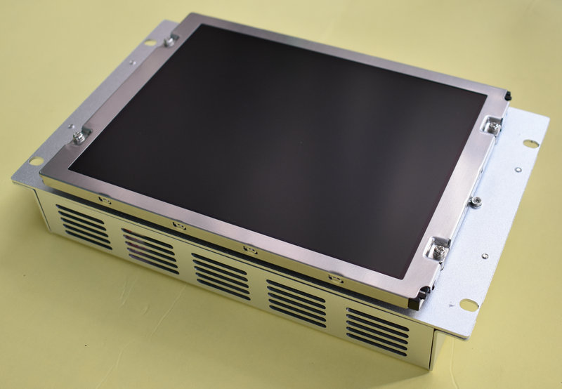 MDT962B-1A compatible LCD display 9 inch for M500 M520 CNC system CRT monitor,HAVE IN STOCK mdt947b 2b a61l 0001 0093 9 replacement lcd monitor replace fanuc cnc system crt