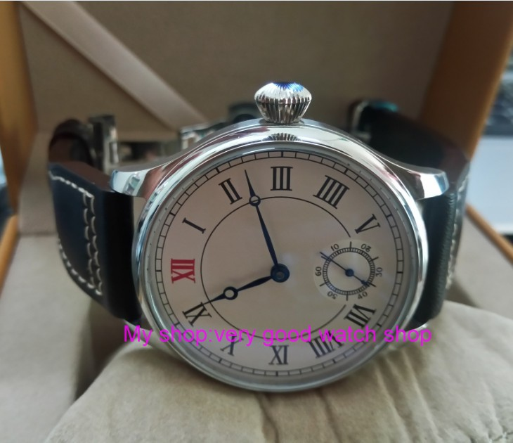44mm PARNIS Asian ST3621/6498 Mechanical Hand Wind movement Mechanical watches white dial men's watches butterfly buckle 86a 44 mm parnis white dial asian 6498 3621 mechanical hand wind men watches mechanical watches wholesale 389