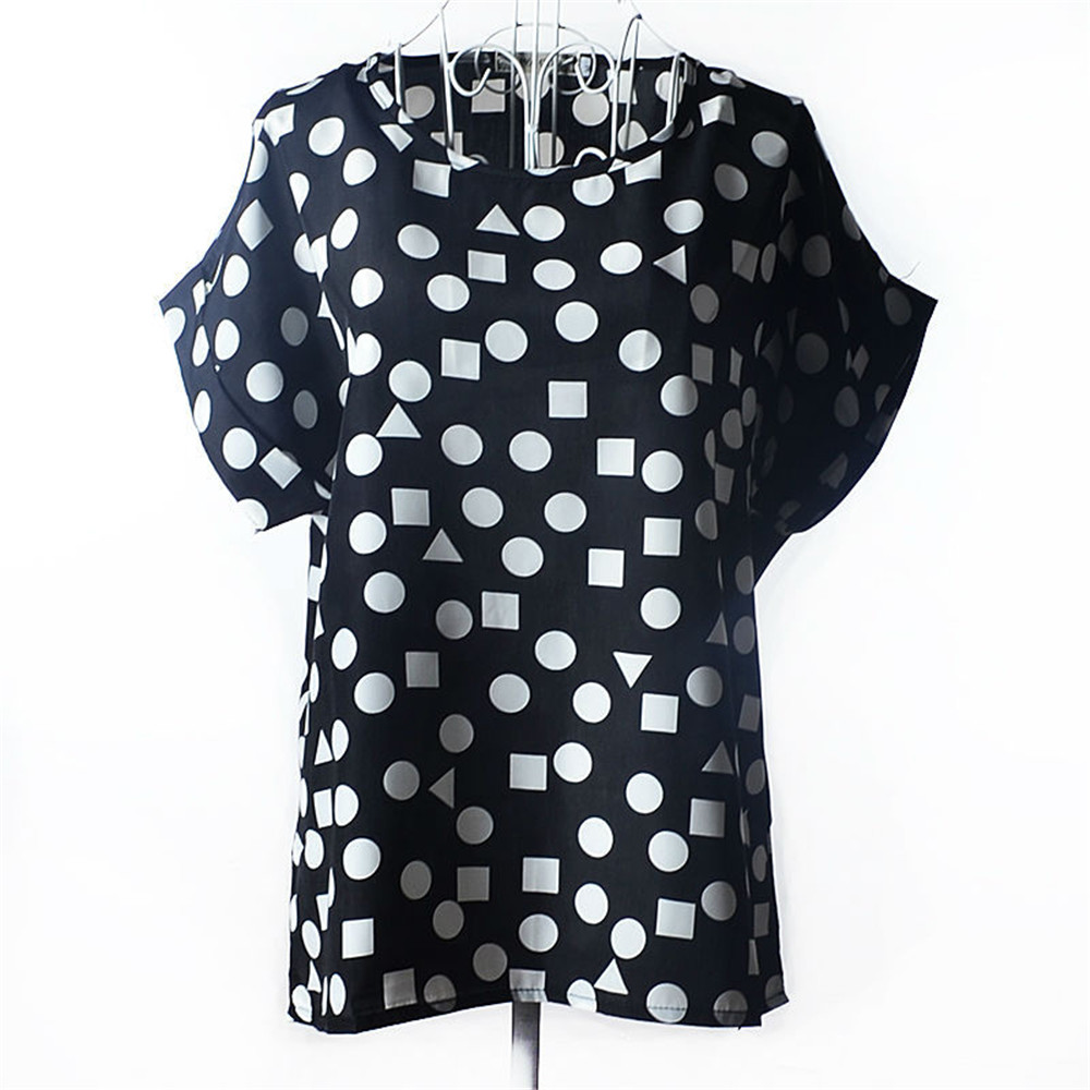 Summer Plus Size 5XL 6XL Women Blouse Shirt Casual O-Neck Tops Tee Ladies Chemise Femme Cheap Clothes China Blusas Feminina