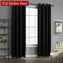 Modern Blackout Curtains For Living Room Bedroom Window Treatment Drapes Panels Blinds