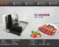 Free DHL FS 989 Household Electric Meat Slicer Slicing Cutter Slicing Cutting Machine FOR Mutton