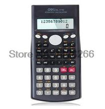 2016 New Deli Scientific Calculator Colored Calculadora Power Electronics Textbooks Stationery Office Material School Supplies