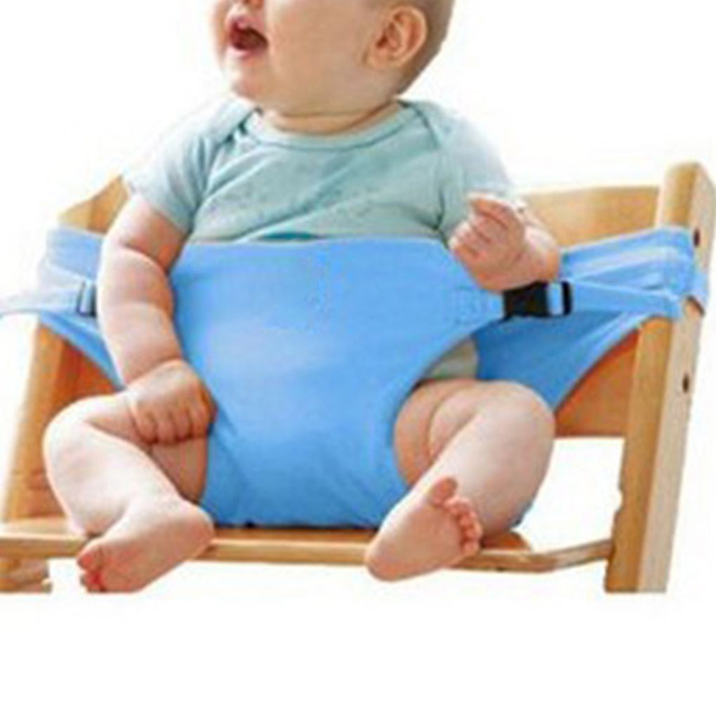Baby Dining Chair Safety Belt Portable Seat Lunch Chair Seat Stretch Wrap Feeding Chair Harness Baby Booster Seat Lunch Chair