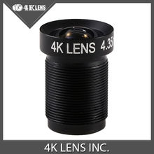 4K LENS 4.35MM Flat NDVI Lens Mapping M12 for GoPro/UAV Micro Cameras and Modified UAV Fixed Newly Coming