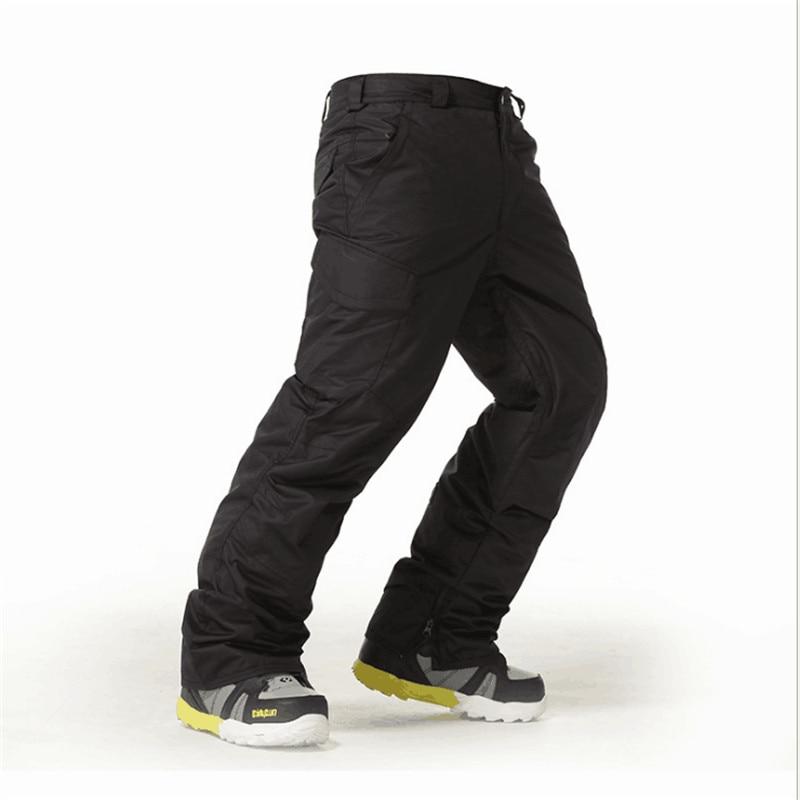 Uomo di Neve Gsou Pantaloni Da Sci Outdoor Impermeabile Escursionismo o Campeggio Mutanda per Gli Uomini Uomo Sci e Snowboard Pantaloni 2018, traspirante