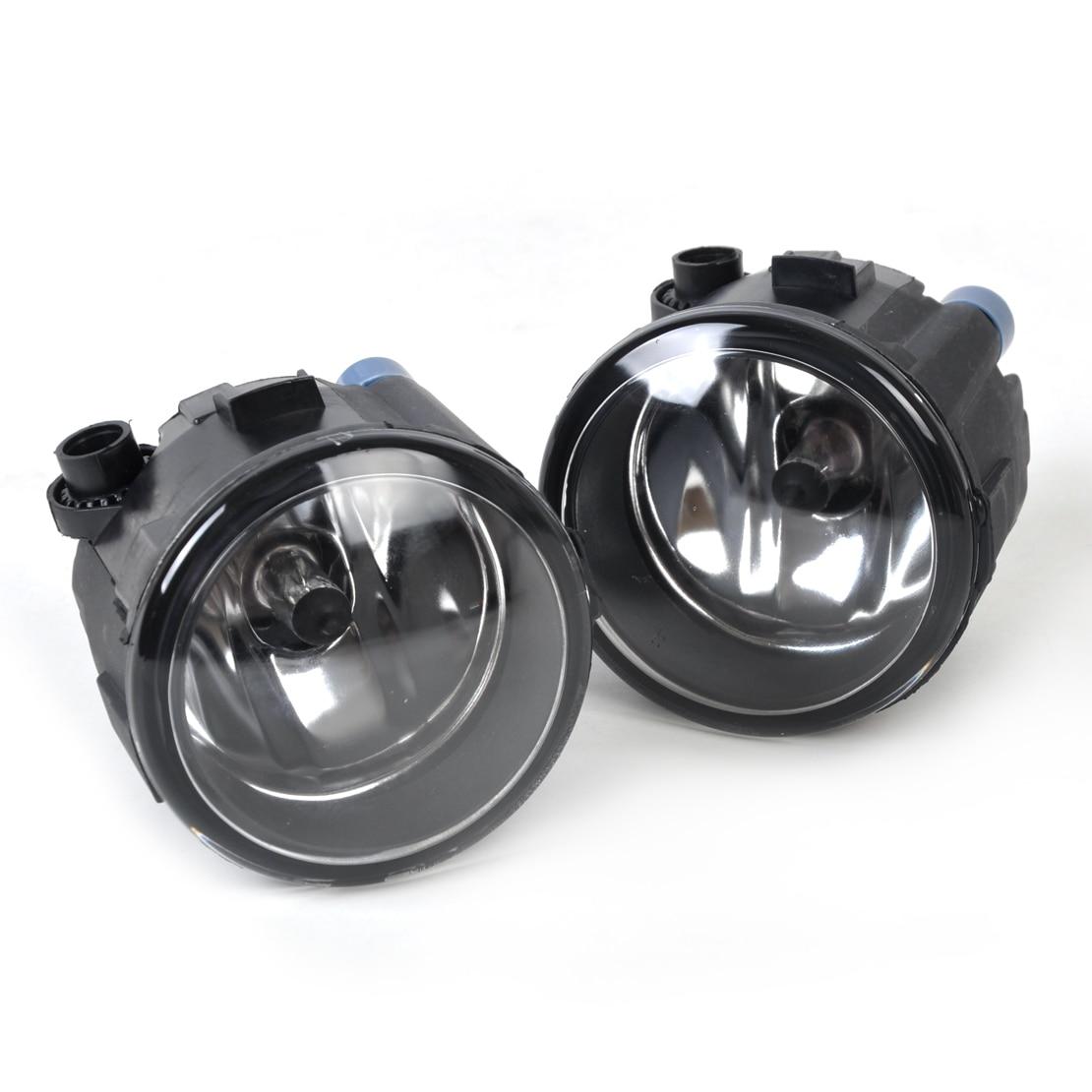 beler 2pcs Right + Left Fog Light Lamp H11 Halogen 55W 12V Bulb Assembly for Nissan Cube Murano Versa Infiniti EX35 261508993B