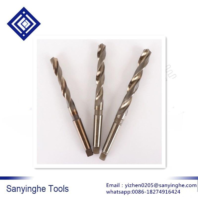 21-37mm Containing Cobalt Taper Shank Twist  Drill Bit Stainless Steel  Taper Shank Twist Drill Bits