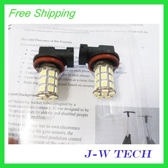 Brand new 27 SMD 5050 LED  H11 LED light  bulb for car Fog light