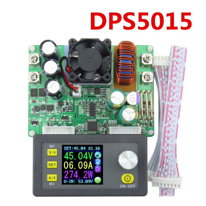 <font><b>DPS5015</b></font> Constant Voltage Current Step-down Programmable Digital Power Supply buck Voltage Converter Voltmeter Multimeter 50V <font><b>15A</b></font> image