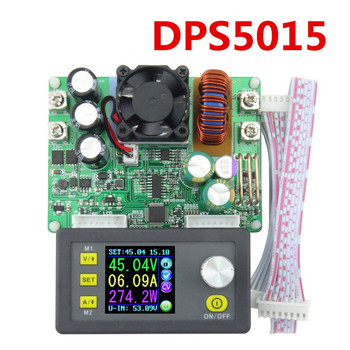 DPS5015 Constant Voltage Current Step-down Programmable Digital Power Supply buck Voltage Converter Voltmeter Multimeter 50V 15A