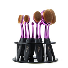 Oval Makeup Brushes Professional