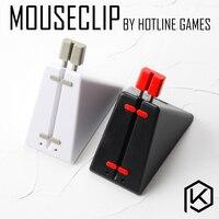 מוקד משחקים mouseclip קליפ כבל משחקי עכבר כבל בקר מחשב שולחני עוזר חוט ארגונית באנג 'י/כבל בעל