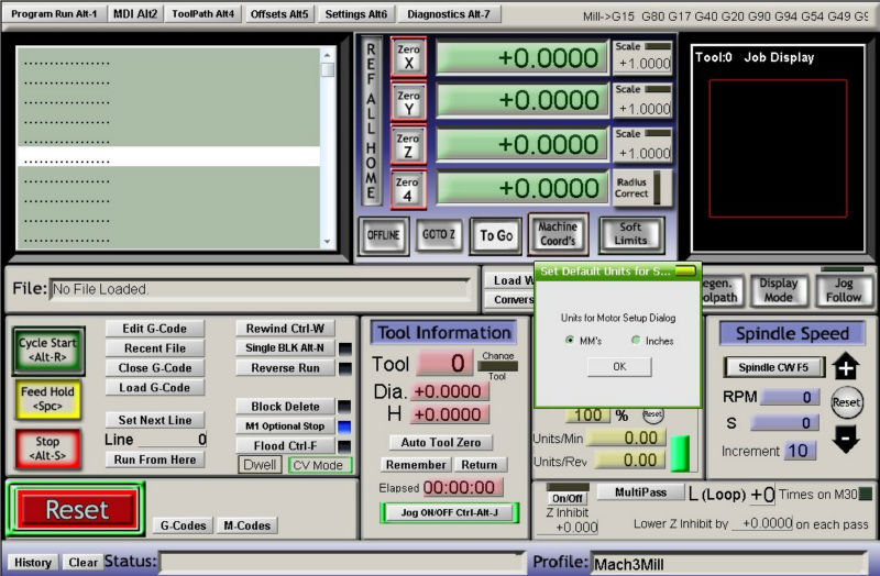 Engraving machine Mach3 control software Mach3 Version 3.042.040 English version with lience,Commissioning tool road G code(037)