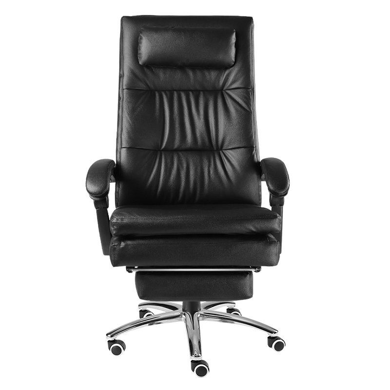 Thicken Cushion Computer Chair Simple Style Office Stool Lifted Rotation Boss Chair Study Room Seat With Footrest Swivel Seat