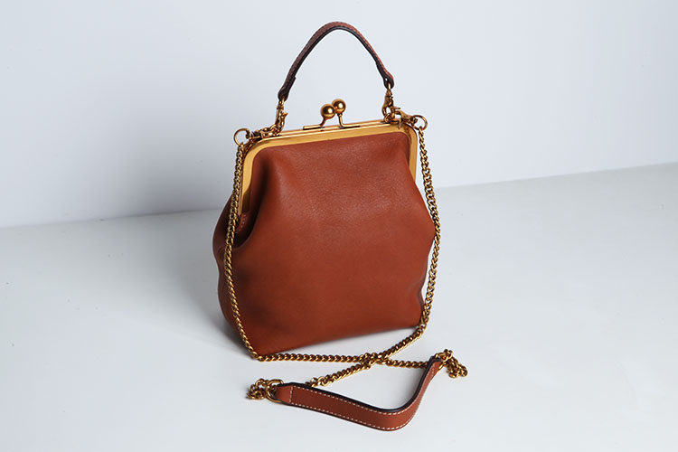 2019 new vintage bag women's handbags leather PU chain shoulder crossbody bags (10)