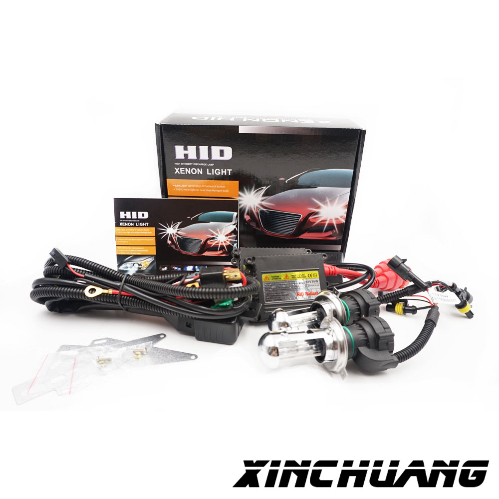 H4-3 35w 55w DC12v black slim ballast xenon light HID 3000K 4300K 5000K 6000K 8000K Auto headlight fast shipping рубашка в клетку dc atura 3 atura black