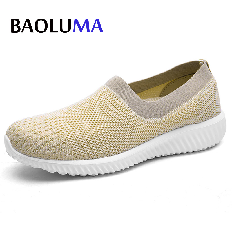 Woman Flat Band Loafers Lady Shoes Summer Female Flock Slip-on Shallow Breathable Flat Casual Korean Shoes Platform Plus Size akexiya casual women loafers platform breathable slip on flats shoes woman floral lace ladies flat canvas shoes size plus 35 43