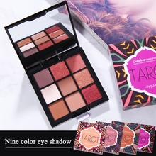 New 3D Eye Shadow 9-Colors shadow Palette Shimmer Matte Powder Makeup