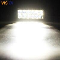 Hot 1PCS 7 Inch 60W LED Driving Headlight 4D Spot Offroad LED Work Light Bar Trailer Truck 4x4 SUV ATV Car Auto Lamp 12V 24V