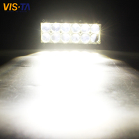Hot 1PCS 7 Inch 60W LED Driving Headlight 4D Spot Offroad LED Work Light Bar Trailer Truck 4x4 SUV ATV Car Auto Lamp 12V 24V