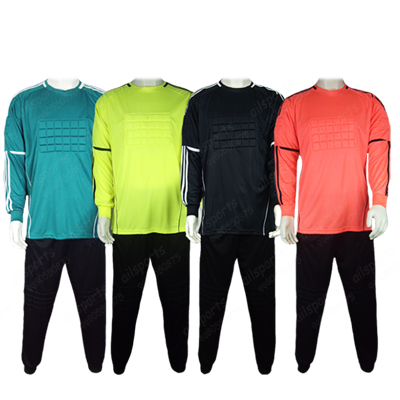 save off af7c2 5d5c0 US $136.66 |Wholesale Free Shipping The Wicketkeeper Goalkeeper Wear Cheap  Soccer Jerseys Shorts Set Football Pants Long sleeve-in Soccer Jerseys from  ...