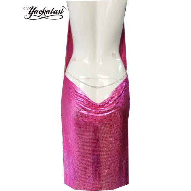 Tienda Online YACKALASI mujeres vestido de fiesta Sexy Club Kendall ...
