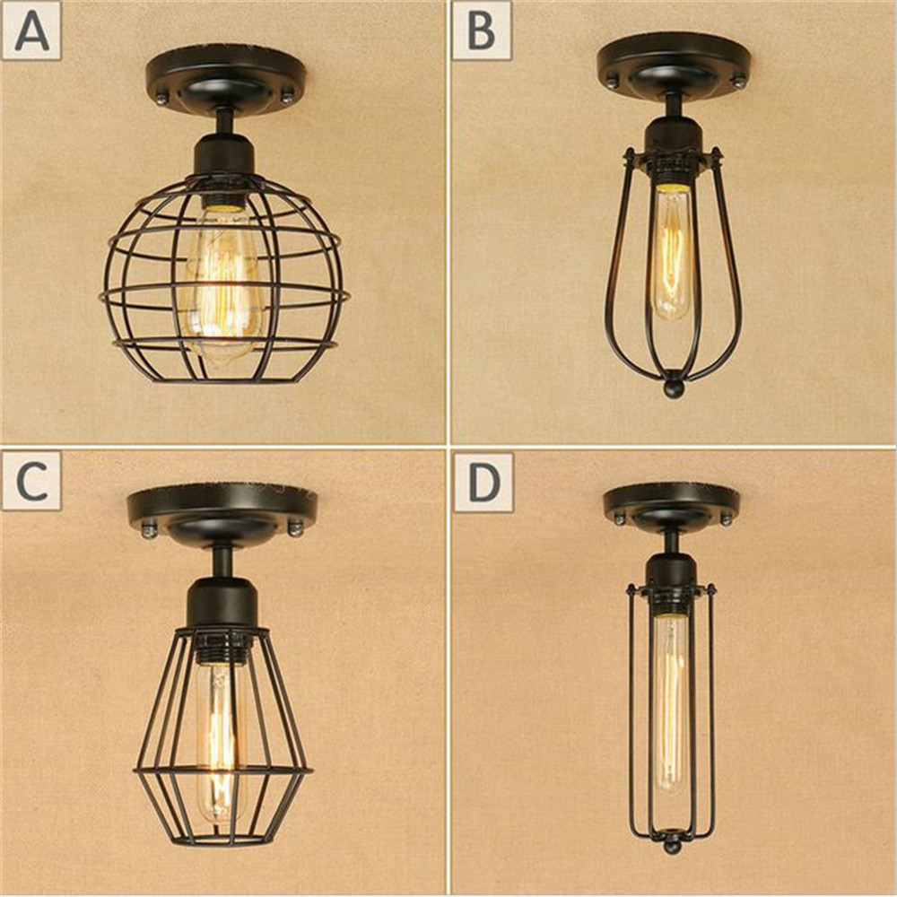 Loft Edison Vintage Ceiling Lamp Fixture Retro Kitchen Ceiling - Old fashioned kitchen ceiling lights