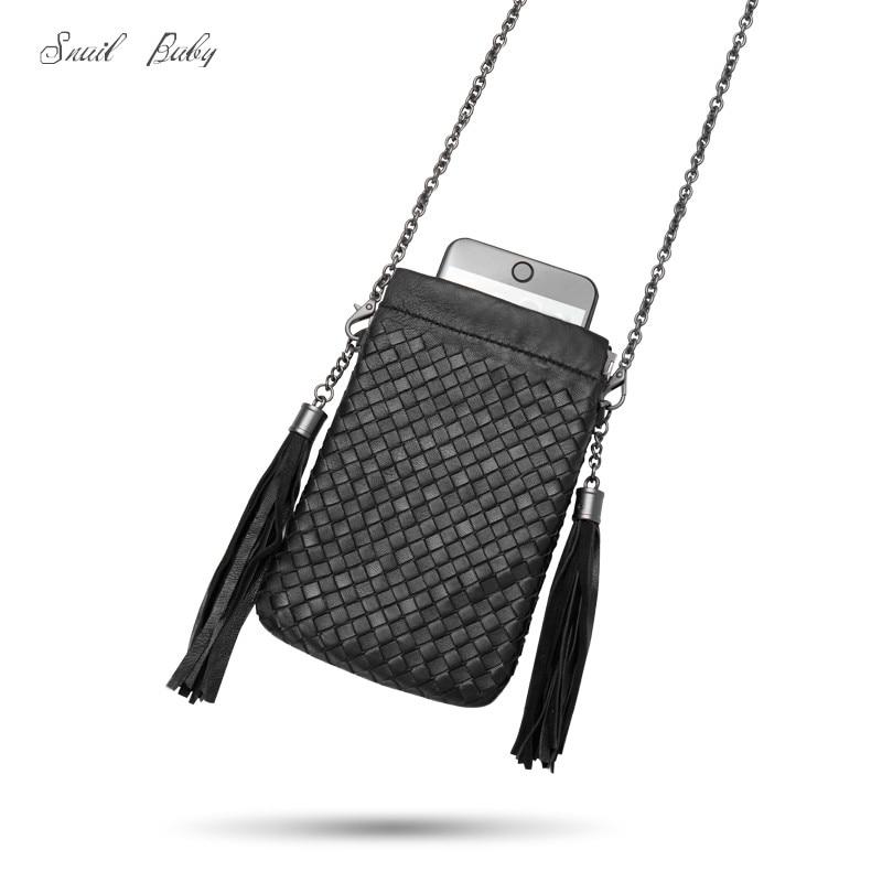 women messenger bag genuine Leather woven Satchel Bag sheepskin mini bag female chain woven shoulder bag недорго, оригинальная цена