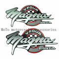 Motorcycle applique decals fuel tank stickers For Honda Magna 250 750