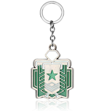 Hot Game Rainbow Six 6 Siege Key Chains for Men Women Metal Keychain Anime Ring Holder Porte Clef Jewelry 2019 New Gift