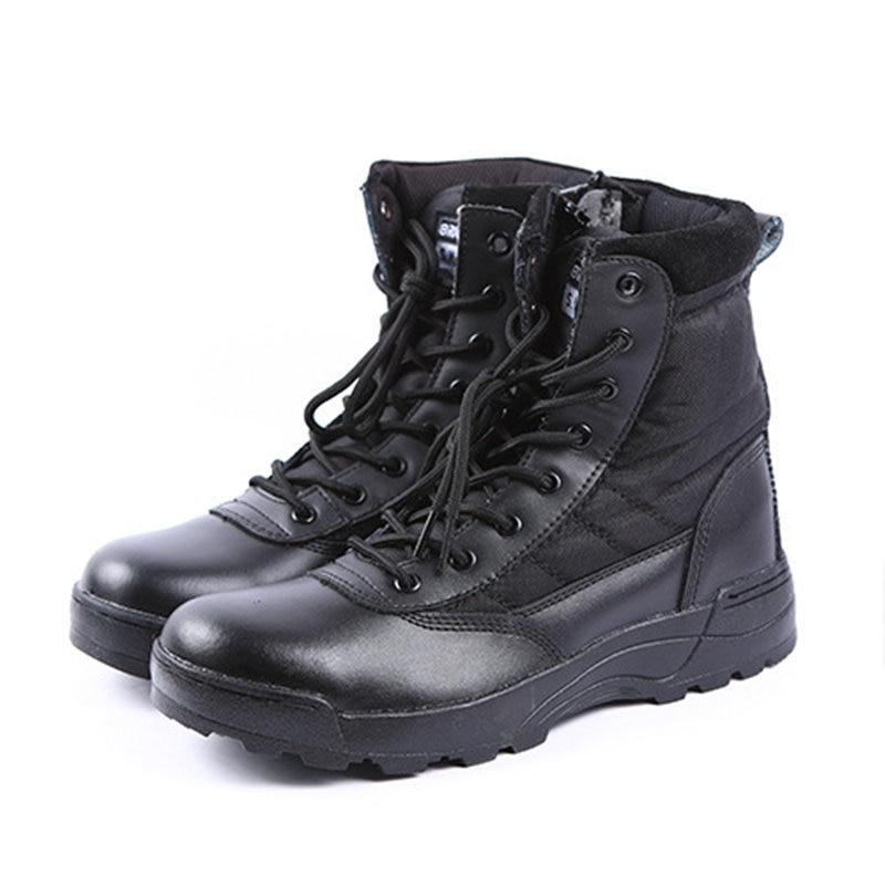 Esdy Desert font b Tactical b font Military Boots SWAT Combat Boots Army Boots Militares Men