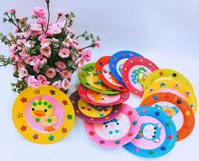 1 Set DIY Paper Plate Art Craft Puzzle Stickers Cartoon Animals Creative Gift Boxes Kindergarten Kids  sc 1 st  AliExpress.com & Buy paper plate craft and get free shipping on AliExpress.com