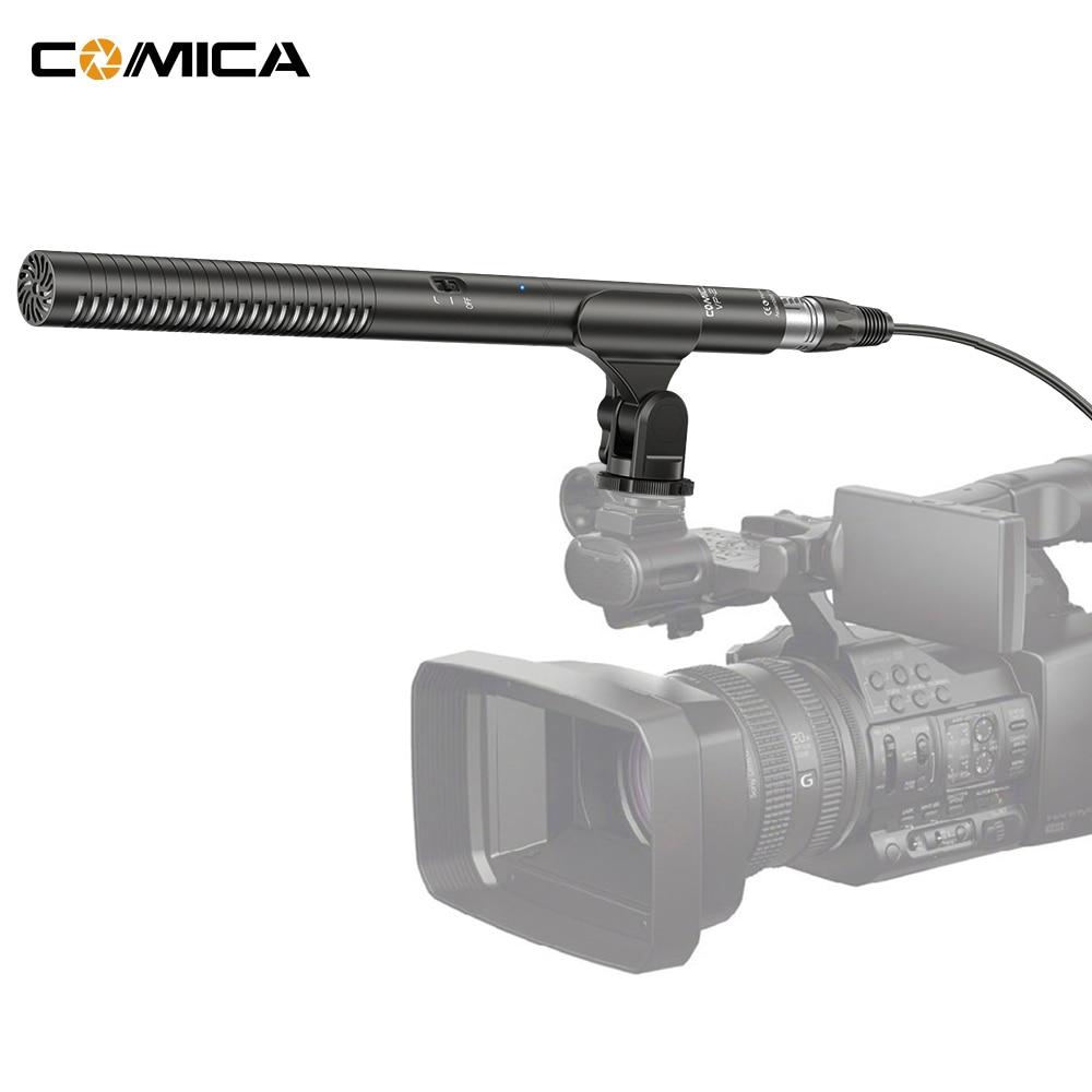 comica cvm vp2 interview shotgun microphone mic super cardioid condenser photography video mic. Black Bedroom Furniture Sets. Home Design Ideas